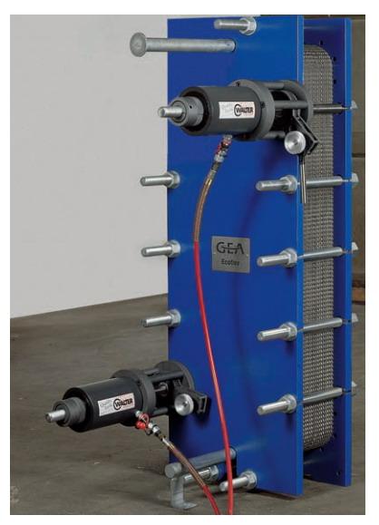 Оборудование для ремонта теплообменников теплообменники m6-fg